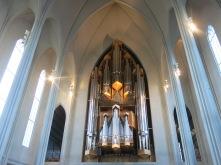 Inside Hallgrimur church